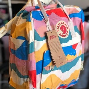 Fjallraven kanken backpack 16L MULTICOLOR